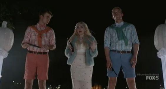 """.: 1x4: Em """"Scream Queens"""" Chanel faz o caminho das abóboras na cor do verão"""