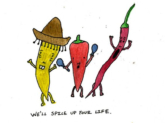 spice up your life spice sign - Google Search