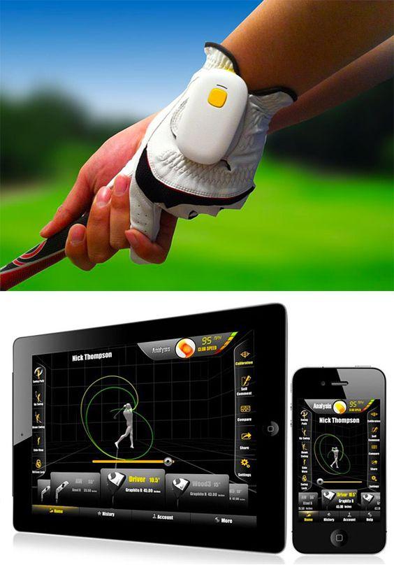 GolfSense 3D Swing Analysis Tool - Need this :)