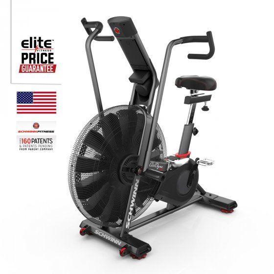 Airdyne Ad8 Exercycle Biking Workout Upright Exercise Bike Schwinn
