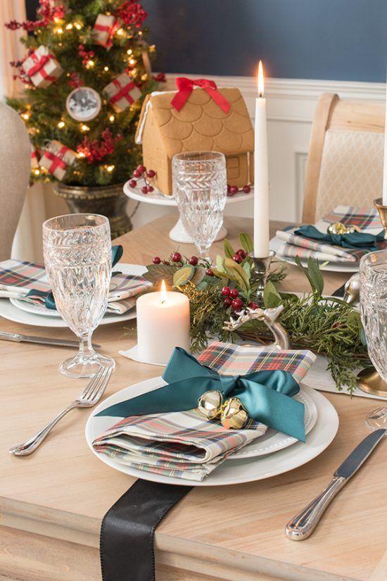 Tartan Christmas Table Decorations Christmas Table Decorations Table Decorations Summer Table Decorations
