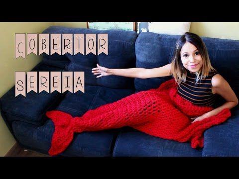 Cobertor de Sereia de Crochê – Marie Castro – Blog do Bazar Horizonte – Maior Armarinho Virtual do Brasil