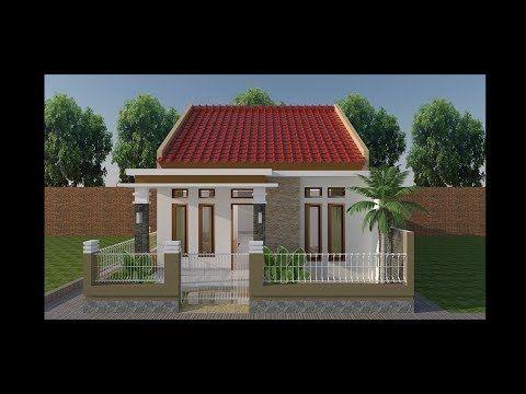 Desain Rumah Sederhana Minimalis 6x10 Youtube In 2021 Minimalist House Design House Design Minimalist Home