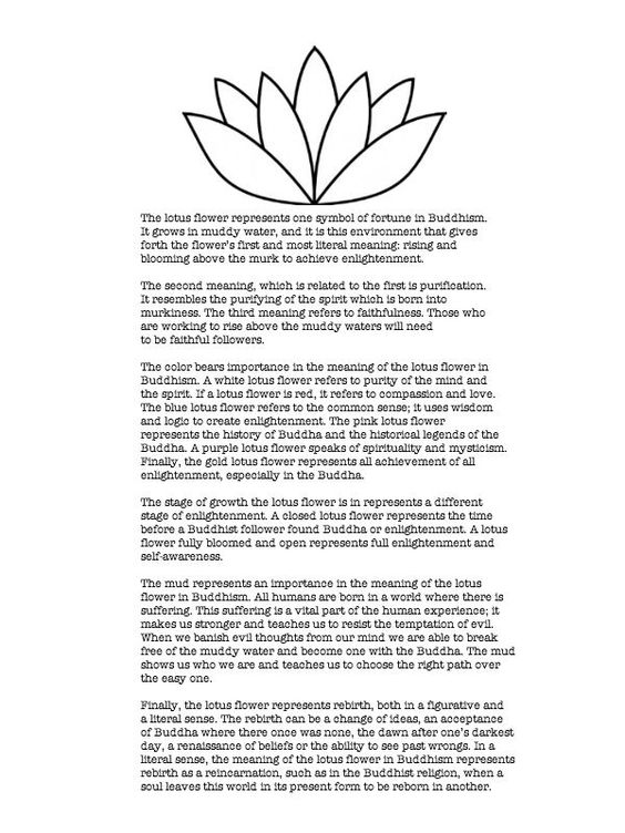 I want to get a lotus tattoo because of this