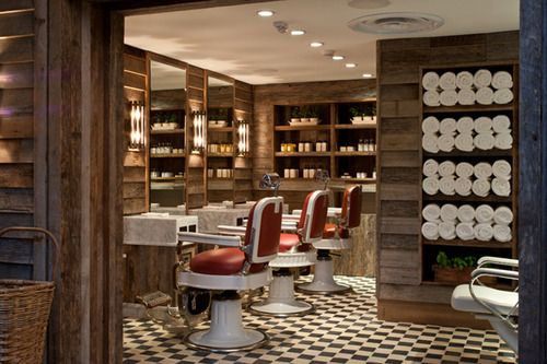 An entry from american gentility nooks aesthetics and for Arredamento barber shop