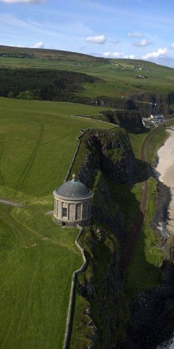 Did you know Northern Ireland's Mussenden Temple was built as a library? It must be difficult to concentrate on a book with a view like this....