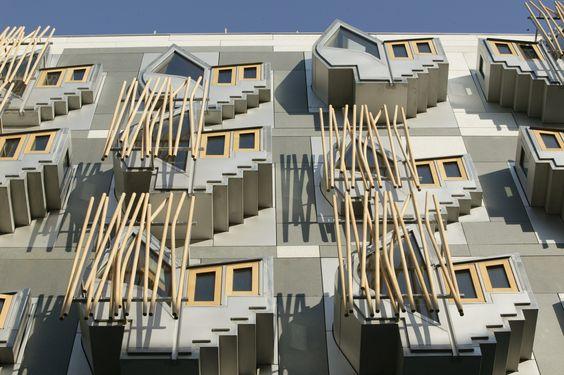 Parlamento de Escocia. EMBT Arquitectos
