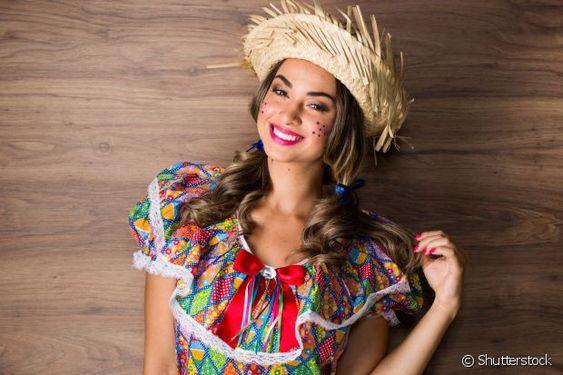 Mais de 50 sugestões de maquiagem para festa junina: confira inspirações do Instagram e das passarelas de moda!