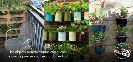 Natureza em casa. Quem não quer?