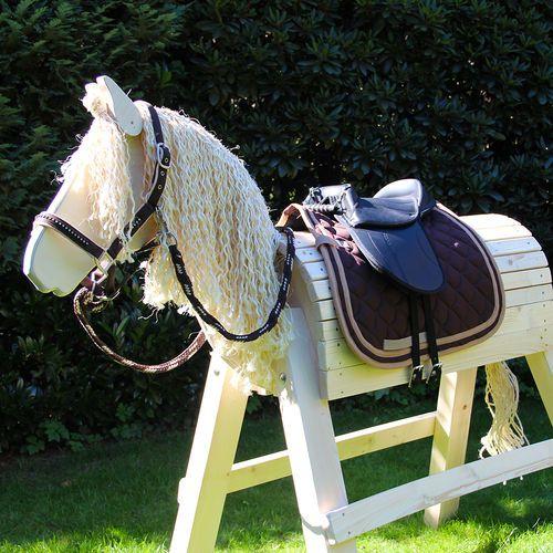 Holzpferd Princess Komplett Set Lilly Holzpferd Pferd Pferde Sattel