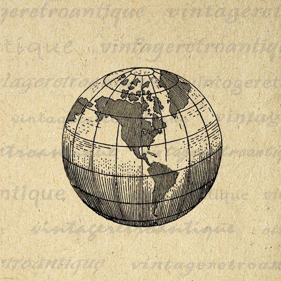 Globe High Resolution Clip Art