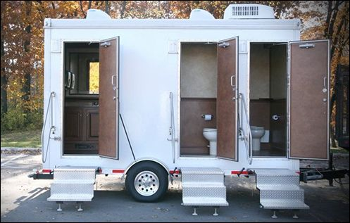 Toilets cambodia and tent on pinterest - Portable bathroom rentals for weddings ...