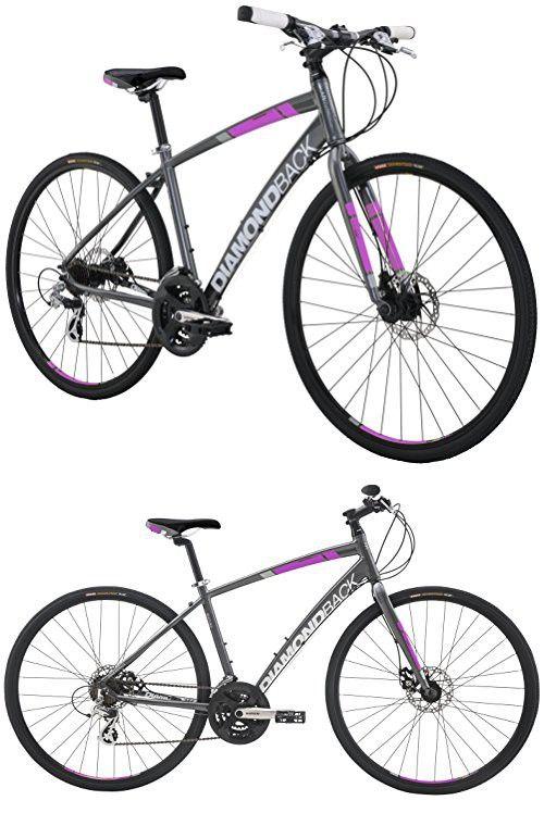 Diamondback Bicycles Women S 2016 Clarity 2 Complete Performance Hybrid Bike 20 Inch Frame 20 Grey Pink Hybrid Bike Comfort Bike Bicycle Women