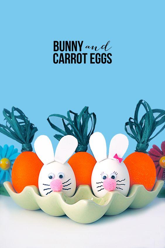 Bunny & Carrot Eggs