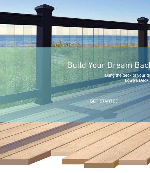 Deck Design Tool Learn How To Build A Deck With Lowe S Deck