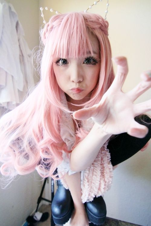 Cat Tiara Omg Pastel Goth Oh My Goth Kawaii Cute Japanese -7014