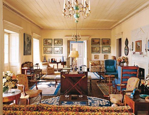 Famous Interior Designers Work design legends: frances elkins | monterey california, interiors