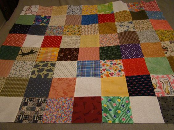Stepping Out Of My Comfort Zone . . .            pulling colors and motifs together for a scrap quilt: