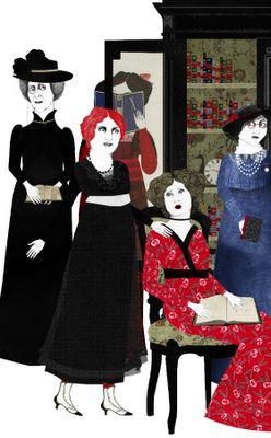 Xingú, (Edith Wharton)  Illustrated by Sara Morante, translated by Pepa Linares, Ed. Contraseña.