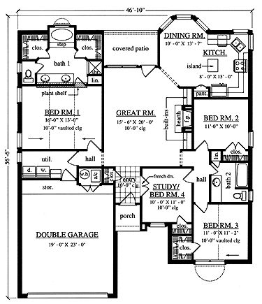 Plans As Well House Plans On Unique House Plans Ranch With Porch