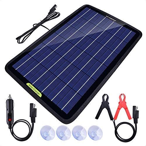 Best Solar Battery Chargers Reviews In 2020 Solar Battery Solar Battery Charger Solar Panel Charger