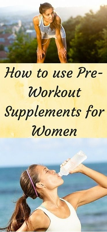 How Women Can Use Pre-Workout Supplements for Best Results   ThinkHealthiness.com
