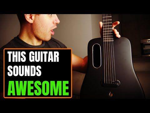 This Carbon Fiber Guitar Has It All Beautiful Built In Effects Youtube Guitar Music Guitar Carbon Fiber