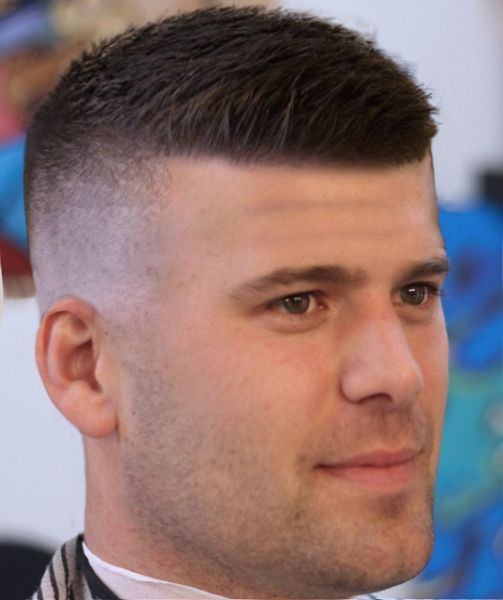 Low Fade + Buzz Cut, best low fade hairstyles, skin tight mid fade haircut