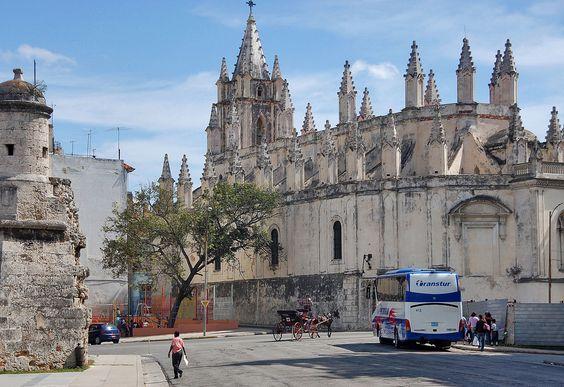 Church in front of the Museo de la Revolución, Havana | by Peter Q