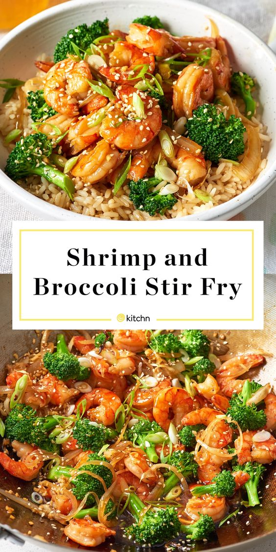 Easy Shrimp & Veggie Stir-Fry