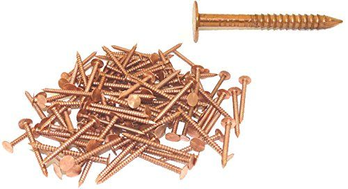 1 12 X 10gauge 4d Ring Copper Roofingslating Nails 5lb Find Out More About The Great Product At The Image Link This I Copper Roof Roofing Nails Metal Roof