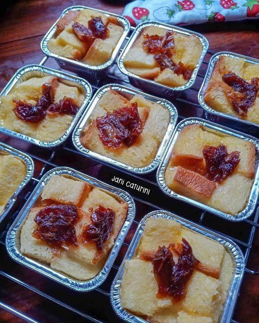 Pudding Roti Tawar Kurma Rotis Makanan Resep Makanan