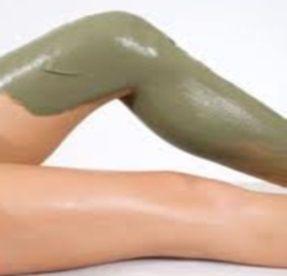 enveloppement, compresse, cataplasme d'argile verte