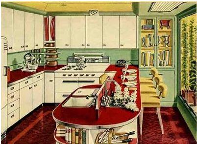 Arqteturas: Cozinha Vintage