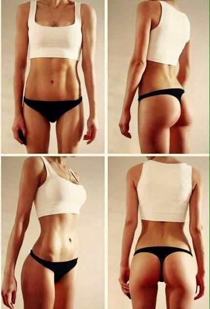 Perfect body -> Fitspiration ! | Fitspiration - eating ...