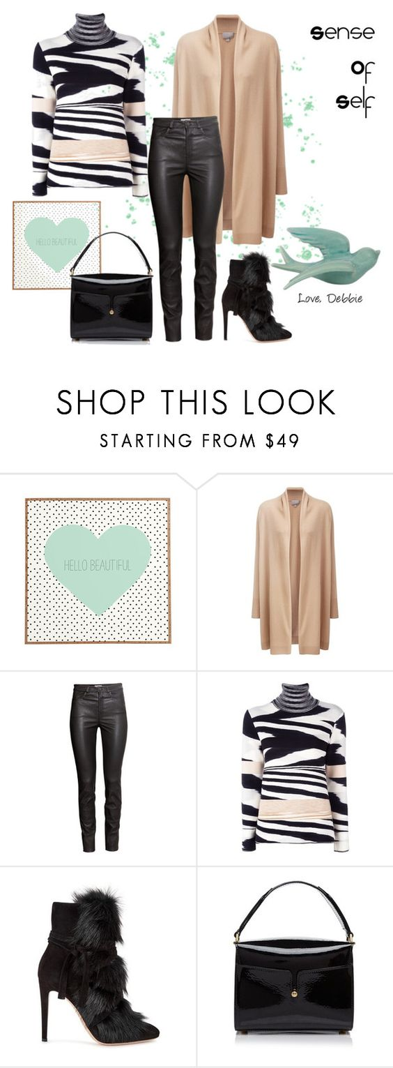 """""""Sense of Self"""" by debbie-michailides ❤ liked on Polyvore featuring DENY Designs, Pure Collection, H&M, Missoni, Gianvito Rossi and Marc Jacobs"""