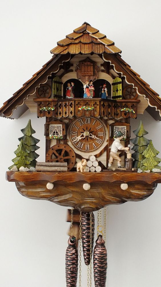 Cuckoo Clock- Black Forest Germany: