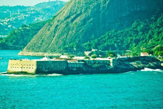 Fortaleza de Santa Cruz. Faz parte da história do Brasil (Niterói - Rio de Janeiro, Brazil)