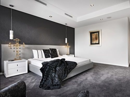 60 Unbelievably Inspiring Small Bedroom Design Ideas  Small Cool Gray Carpet Bedroom Review