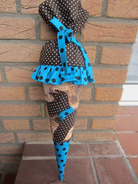Stoffschultüte*Geschwistertüte*Hund von Betty_123 auf DaWanda.com