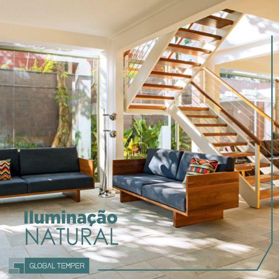 Iluminação natural traz sofisticação e economia para a casa!