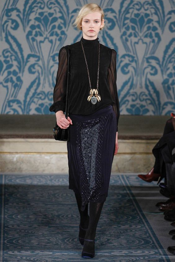 fall 2013 ready to wear tory burch the medieval princess