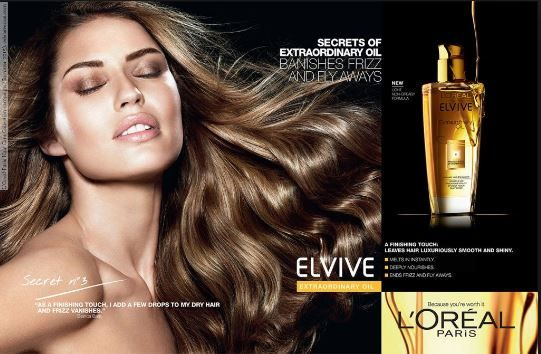Elvive Ad Loreal Paris Hair Hair Advertising Loreal Hair