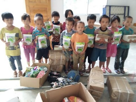 School Supplies for Primary Schools in Longfu