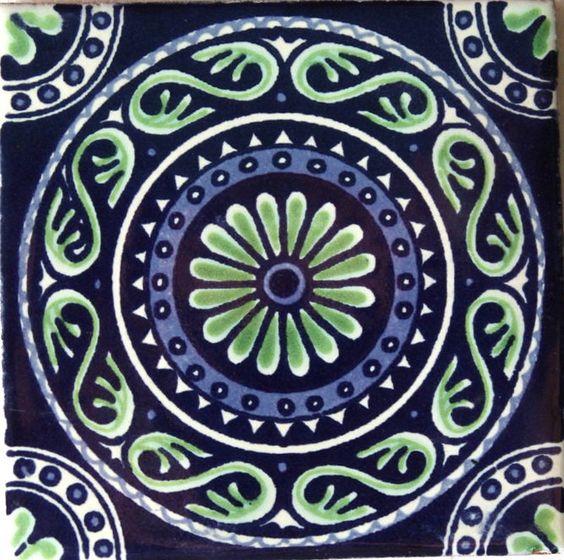 Talavera tiles c ceramic tiles talavera azulejos for Azulejo de talavera mexico