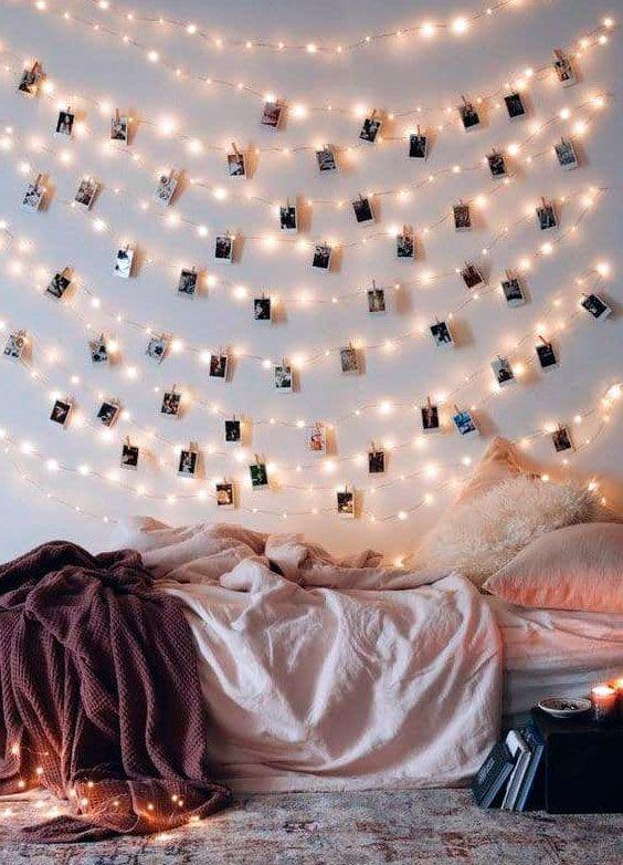 20+ Ideas para decorar tu cuarto con luces led ideas