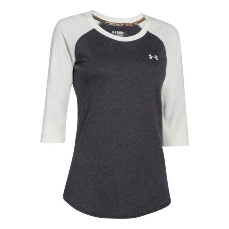 Under Armour® Women's Borderland 3/4 Sleeve Tee Shirt | Cabela's Canada Medium