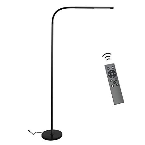 Byingo Remote Control Touch Sensor Switch Led Reading And Crafting Floor Lamp Modern Simplicity Style Steple Floor Lamp Modern Floor Lamps Lamps For Sale
