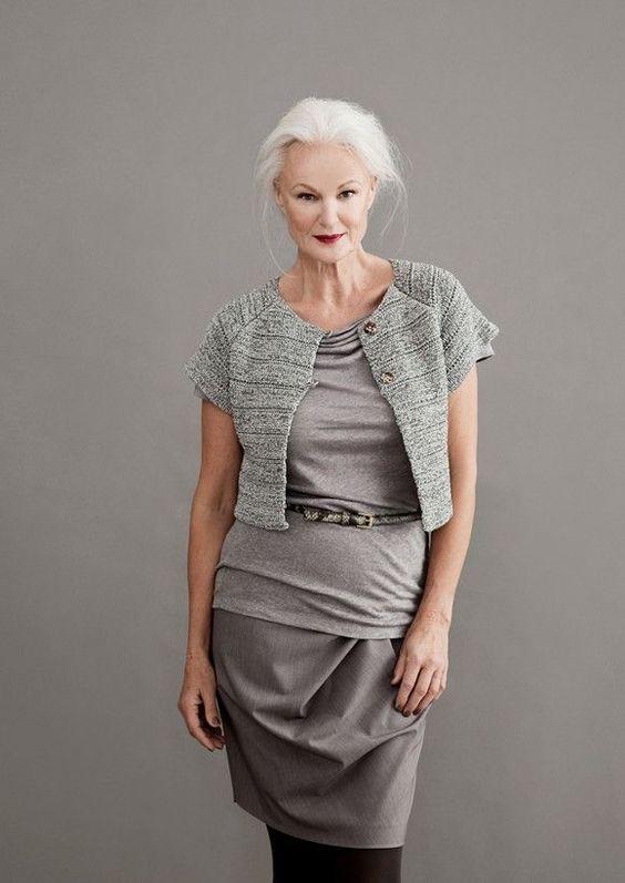 Model Grethe Kaspersen I've never understood why people say that beauty fades. It's not true.: