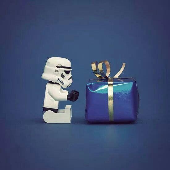 Feliz Cumpleaños, Lego Stormtrooper Birthday.